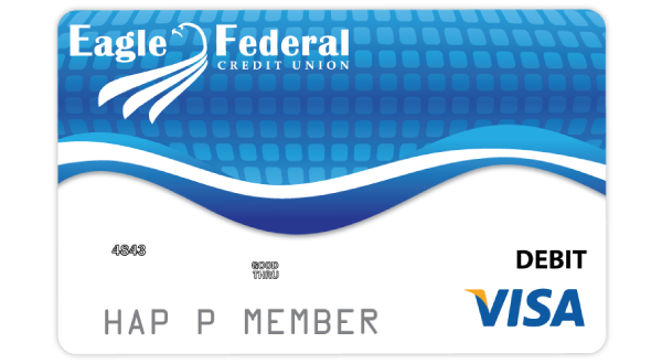 Eagle Federal Credit Union Visa Debit Card