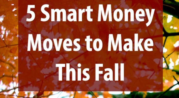 tree with words - 5 smart money moves to make this fall